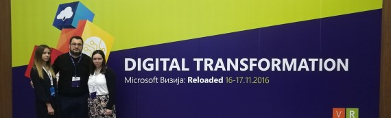 INFINITE SOLUTIONS participated in the latest edition of Microsoft Vizija: Reloaded